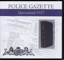 Queensland Police Gazette 1927