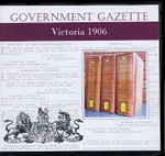 Victorian Government Gazette 1906