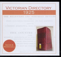 Victorian Directory 1925 (Sands and McDougall)