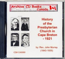 History of the Presbyterian Church in Cape Breton
