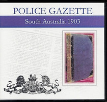 South Australian Police Gazette 1903