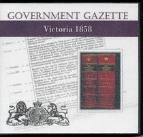 Victorian Government Gazette 1858