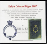 Kelly's Criminal Digest 1887