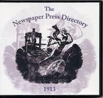 Newspaper Press Directory 1913