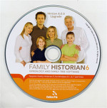 Family Historian 6 Upgrade from Version 5