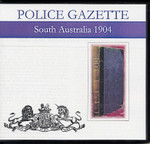 South Australian Police Gazette 1904