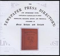 Newspaper Press Directory 1927