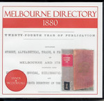 Melbourne Directory 1880 (Sands and McDougall)
