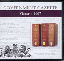 Victorian Government Gazette 1907