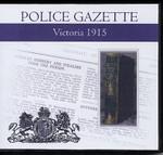 Victoria Police Gazette 1915