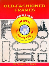 Old-Fashioned Frames Clip-Art