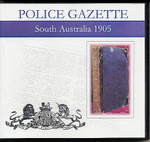 South Australian Police Gazette 1905