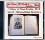 History of Nova Scotia Volume III: Biographical Sketches