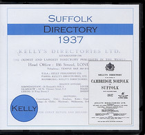 Suffolk 1937 Kelly's Directory
