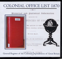 Colonial Office List 1870