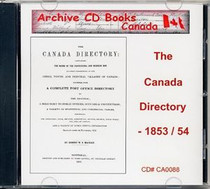 The Canada Directory 1853-54