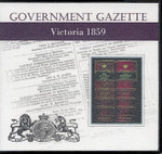 Victorian Government Gazette 1859
