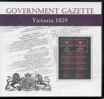 Victorian Government Gazette 1859