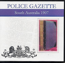 South Australian Police Gazette 1907