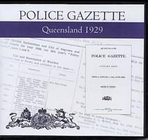 Queensland Police Gazette 1929