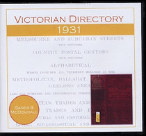 Victorian Directory 1931 (Sands and McDougall)