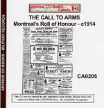 The Call to Arms: Montreal's Roll of Honour 1914