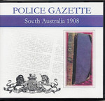 South Australian Police Gazette 1908