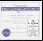 Tasmania Post Office Directory 1935-1936 (Wise)