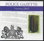 Victoria Police Gazette 1865