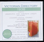 Victorian Directory 1938 (Sands and McDougall)