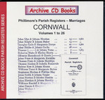 Cornwall Phillimore Parish Registers (Marriages) Volumes 1-26