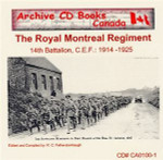 The Royal Montreal Regiment (14th Battalion C.E.F.) 1914-1925