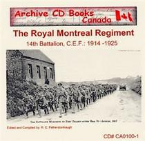 The Royal Montreal Regiment (14th Battalion C.E.F.) 1914-1925