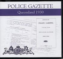 Queensland Police Gazette 1930