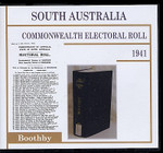 South Australia Commonwealth Electoral Roll 1941 Boothby
