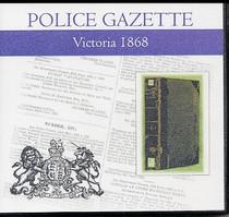 Victoria Police Gazette 1868