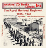 The Royal Montreal Regiment 1925-1945