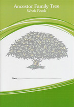 Ancestor Family Tree Work Book