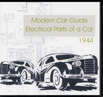 Modern Car Guide 1944: Electrical Parts