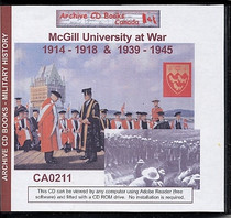 McGill University at War: 1914-1918 and 1939-1945