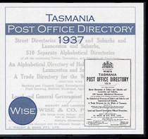 Tasmania Post Office Directory 1937 (Wise)