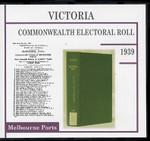 Victoria Commonwealth Electoral Roll 1939 Melbourne Ports