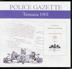 Tasmania Police Gazette 1901