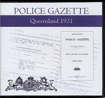 Queensland Police Gazette 1931