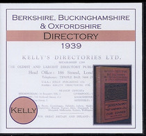 Berkshire, Buckinghamshire and Oxfordshire 1939 Kelly's Directory