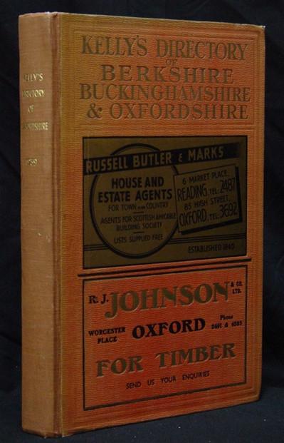 Buckinghamshire Historical Directories /& kellys directory ebooks in pdf on disc