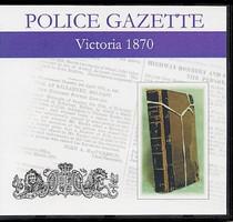Victoria Police Gazette 1870