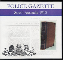 South Australian Police Gazette 1913