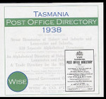 Tasmania Post Office Directory 1938 (Wise)