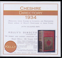 Cheshire 1934 Kelly's Directory
